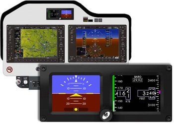 Bell 407GX Electronic Standby Attitude Indicator