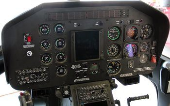 Bell 407 Expanded Instrument Panel