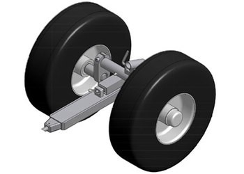 Bell 505, Ground Handling Wheels