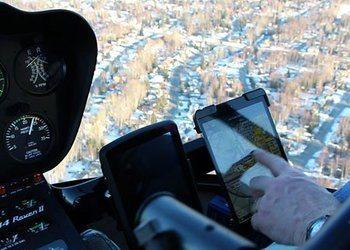 Robinson R44 iPad Mount