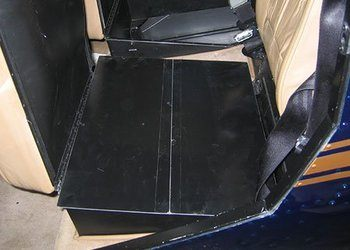 Robinson R44 Rear Seat Cargo Extension Panels