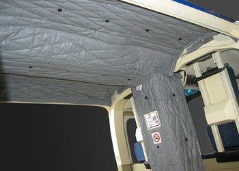 Interior Blanket Kit, Bell 206B