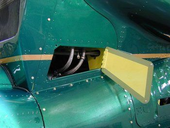 Bell 212, 412, UH-1N Oil Cooler Access Door