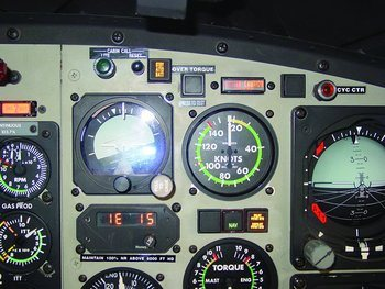 Bell 412EP, Standby Attitude Battery Monitor, Bell 412EP