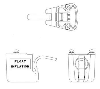 Bell 206 Series, Replacement Float Switch Assembly