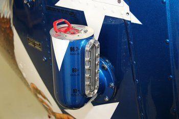 Bell 206 Series, OH-58, Range Extender® Locking Fuel Cap