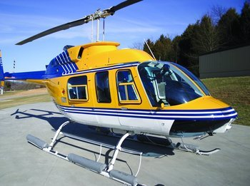 Bell 206L, L-1, L-3, Lightweight Pop-Out Emergency Float Kit