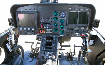 Bell 407 Law Enforcement Instrument Panel