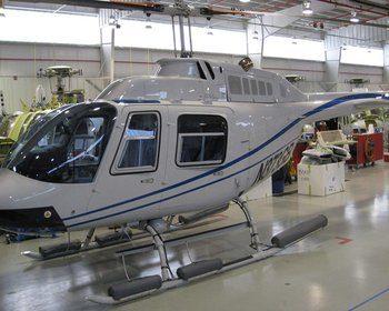 Bell 206A, B, Lightweight Pop-Out Emergency Float Kit