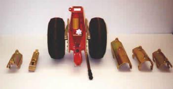 MD 900, Ground Handling Wheels