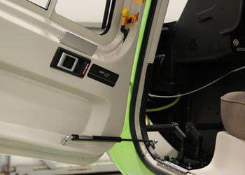 Bell 407, Jettison Door Automatic Door Openers