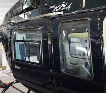 Bell 206L Series, Passenger Sliding Door Kit
